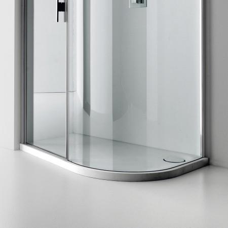 Aquaglass+ Lux Quadrant Shower Trays