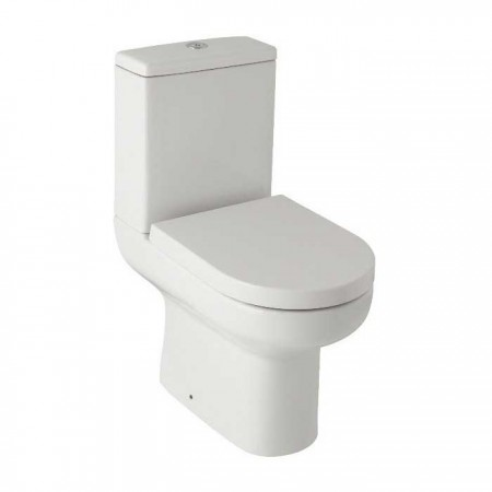 Kartell Revive Ceramic Close Coupled Toilet WC Pan With Cistern And Premium Soft-Close Seat