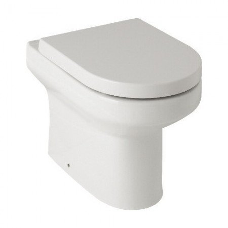 Kartell Revive Ceramic Back To Wall Toilet WC Pan With Premium Soft-Close Seat