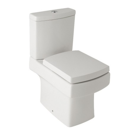 Kartell Embrace Ceramic Close Coupled Toilet WC Pan With Cistern And Soft-Close Seat