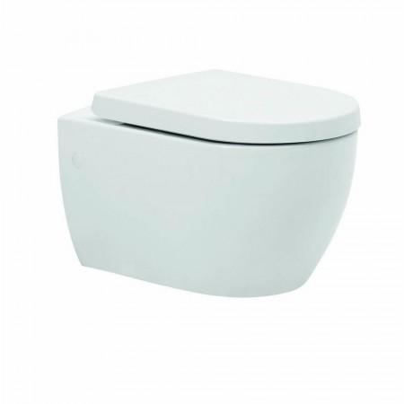 Kartell Metro-K Ceramic Wall Hung Toilet Pan With Soft-Close Seat