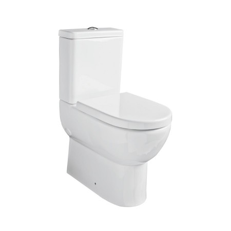 Kartell Ratio Ceramic Close Coupled Toilet WC Pan Comfort Height With Cistern And Soft-Close Seat