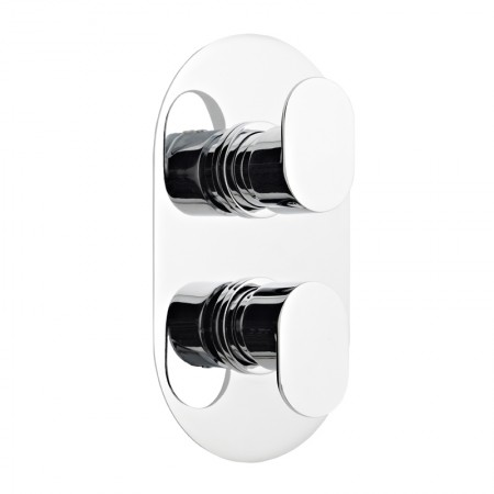Kartell Logik Chrome Concealed Thermostatic Shower Valve