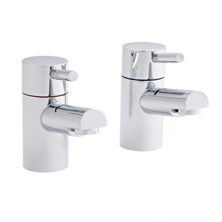 Kartell Plan Brass Bath Taps Pair