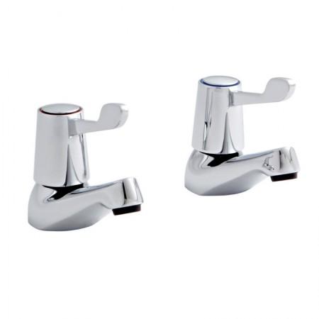 Kartell Leva Brass Bath Taps Pair