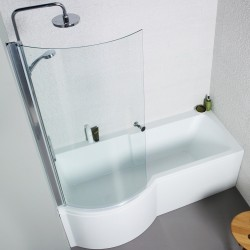 Kartell Adapt EU Made Heavy Duty P Shaped Bath