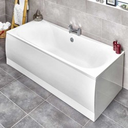 Kartell Jubilee UK Made Heavy Duty Straight Acrylic Bath