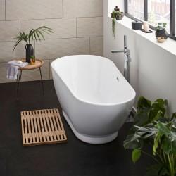 Kartell Esposito 2 UK Made Heavy Duty Acrylic Modern Freestanding Bath 1700mm x 800mm