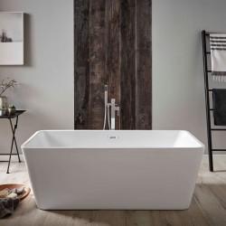 Kartell Pure UK Made Heavy Duty Acrylic Modern Freestanding Bath 1700mm x 800mm