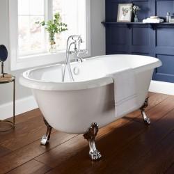 Kartell Astley UK Made Heavy Duty Acrylic Modern Freestanding Baths