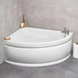Kartell Formula UK Made Heavy Duty Offset Acrylic Corner Bath