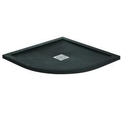 Aquaglass Designer Slate Effect Stone Resin Quadrant Shower Trays