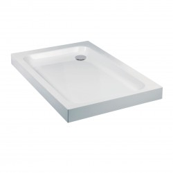 Aquaglass Standard ABS Capped Acrylic Stone Resin Rectangular Shower Trays