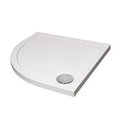 Aquaglass Designer ABS Capped Acrylic Stone Resin Quadrant Shower Trays