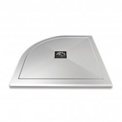 Aquaglass Slimline Stone Resin Quadrant Shower Trays