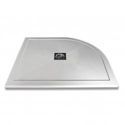 Aquaglass Slimline Stone Resin Offset Quadrant Shower Trays