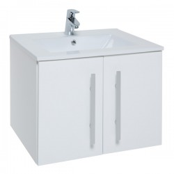 Kartell Purity Cabinet With Basin Modern Vanity Unit Wall Mounting