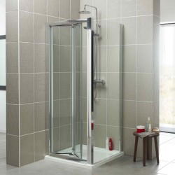 Kartell Koncept Bi-Fold Door Square Shower Enclosure