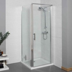 Kartell Koncept Hinged Door Square Shower Enclosure