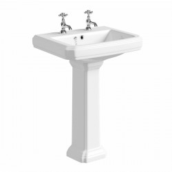 Kartell Astley Ceramic Full Pedestal With Basin 600mm