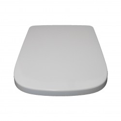 Sqaure Shape White Soft Close Quick Release Kartell Toilet Seat Top/Bottom Fix with Fittings