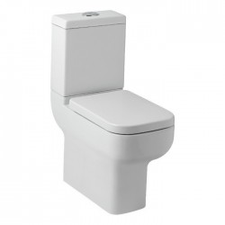 Kartell Options 600 Ceramic Close Coupled Comfort Height Toilet WC Pan With Cistern And Soft-Close Seat