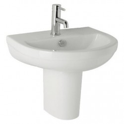 Kartell Revive Ceramic Semi Pedestal With Basin