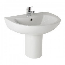Kartell G4k Ceramic Semi Pedestal With Basin