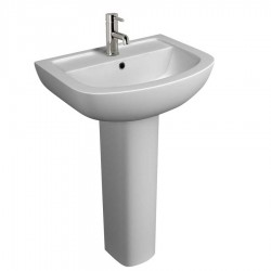 Kartell Studio Ceramic Full Pedestal With Basin 550mm