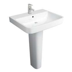 Kartell Sicily Ceramic Full Pedestal With Basin 550mm