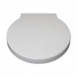 Round Shape White Soft Close Quick Release Kartell Toilet Seat Bottom Fix with Fittings