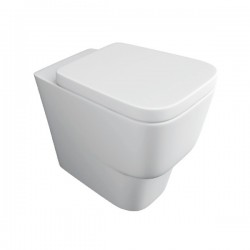 Kartell Napoli Ceramic Back To Wall Toilet WC Pan With Soft-Close Seat