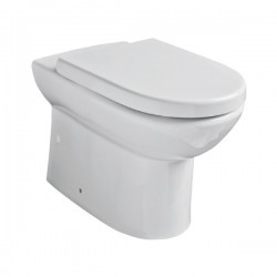 Kartell Ratio Ceramic Back To Wall Toilet WC Pan With Soft-Close Seat