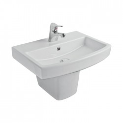 Kartell Aspect Ceramic Semi Pedestal With Basin