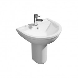 Kartell Lifestyle Ceramic Semi Pedestal Basins