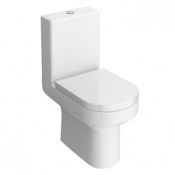 Kartell Lifestyle Ceramic Comfort Height Close Coupled Toilet Pan With Cistern And Soft-Close Seat