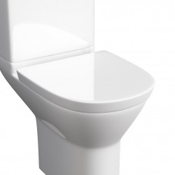 Kartell Project Round Soft-Close Toilet Seat Only