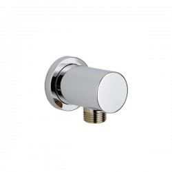 Kartell Round Brass Outlet Shower Elbow
