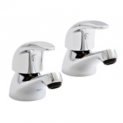 Kartell Koral Brass Bath Taps Pair