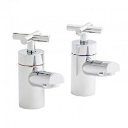 Kartell Times Brass Bath Taps Pair