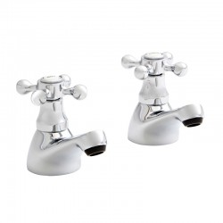 Kartell Viktory Brass Bath Taps Pair