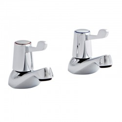 Kartell Leva Brass Basin Taps Pair