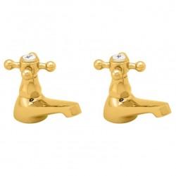 Methven Deva Tudor Brass Gold Tap Range